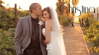 Christina + Akili Wedding Highlights at The Promenade in Costa Mesa