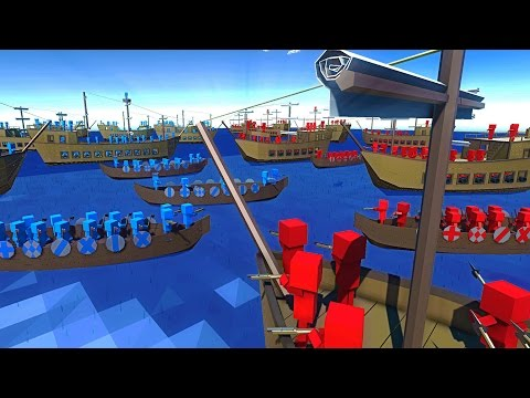 EPIC Pirate Ship Battles!  NEW Update Ancient Warfare 2 Naval Battles Gameplay