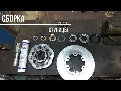 #Nissan #Terrano 1 #WD21 #VG30 ремонт ступицы замена диска замена подшипника ремонт хабов