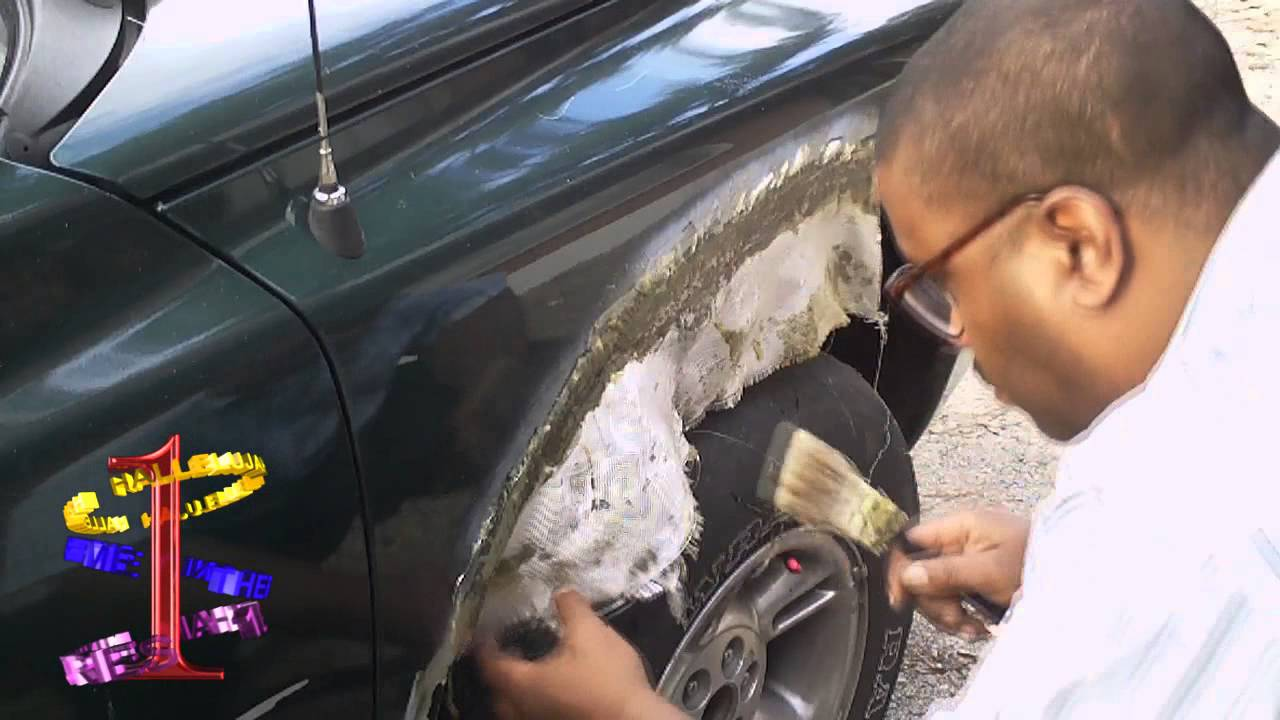 How To Repair Car Body Holes