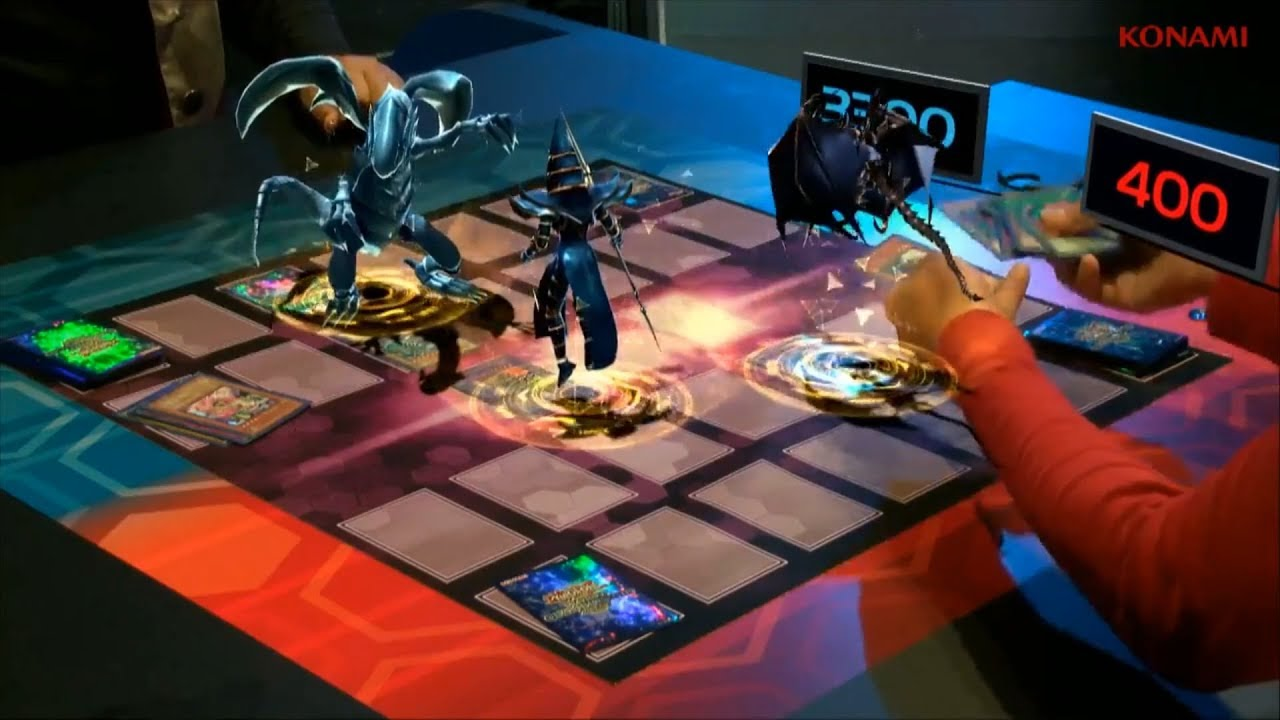 augmented reality yugioh