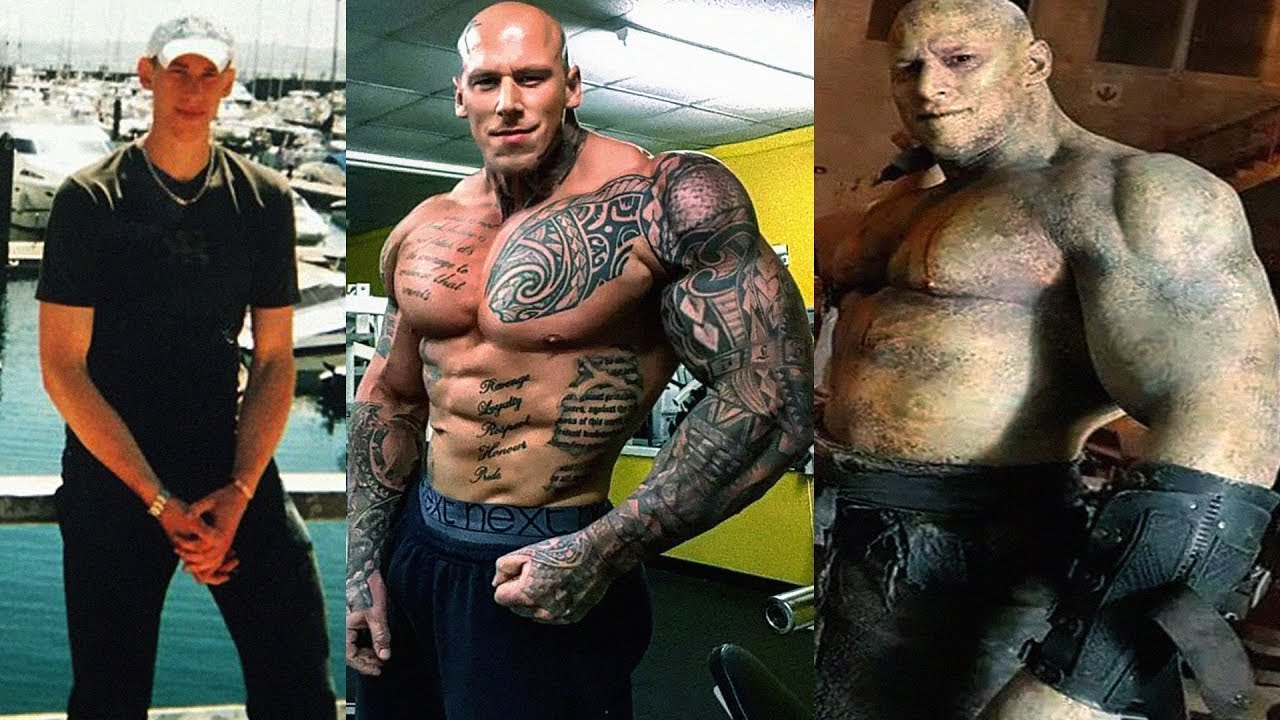 Martyn Ford Transformation 2018 From 17 To 35 Years Old