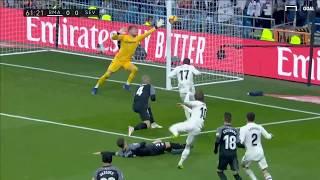 Highlights Real Madrid 2-0 Sevillal | Vòng 19 La Liga