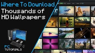 where to download thousands of hd wallpapers