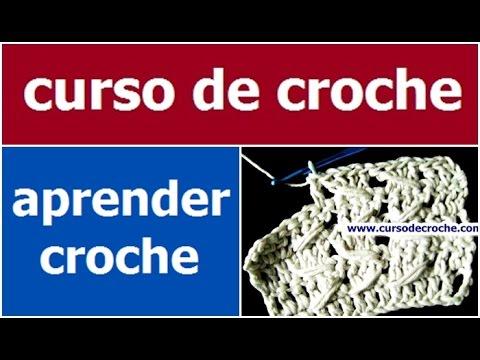 CURSO DE CROCHE BASICO PARA INICIANTES AULA 033/081 - PONTO ALTO ...