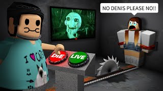 Getting REVENGE on my fans in Roblox SAW!