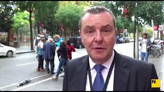 Declaracions de Mark Victor Demesmaeker-Visitant internacional