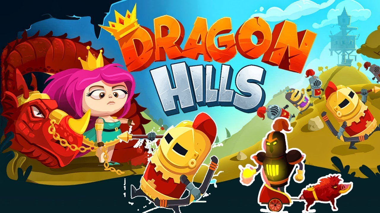 Dragon Hills Gameplay - Crazy Jumps in Gameplay with Gertit
