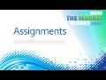 Creating Assignments on HTMW