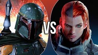 Versus Series | Boba Fett vs Commander Shepard