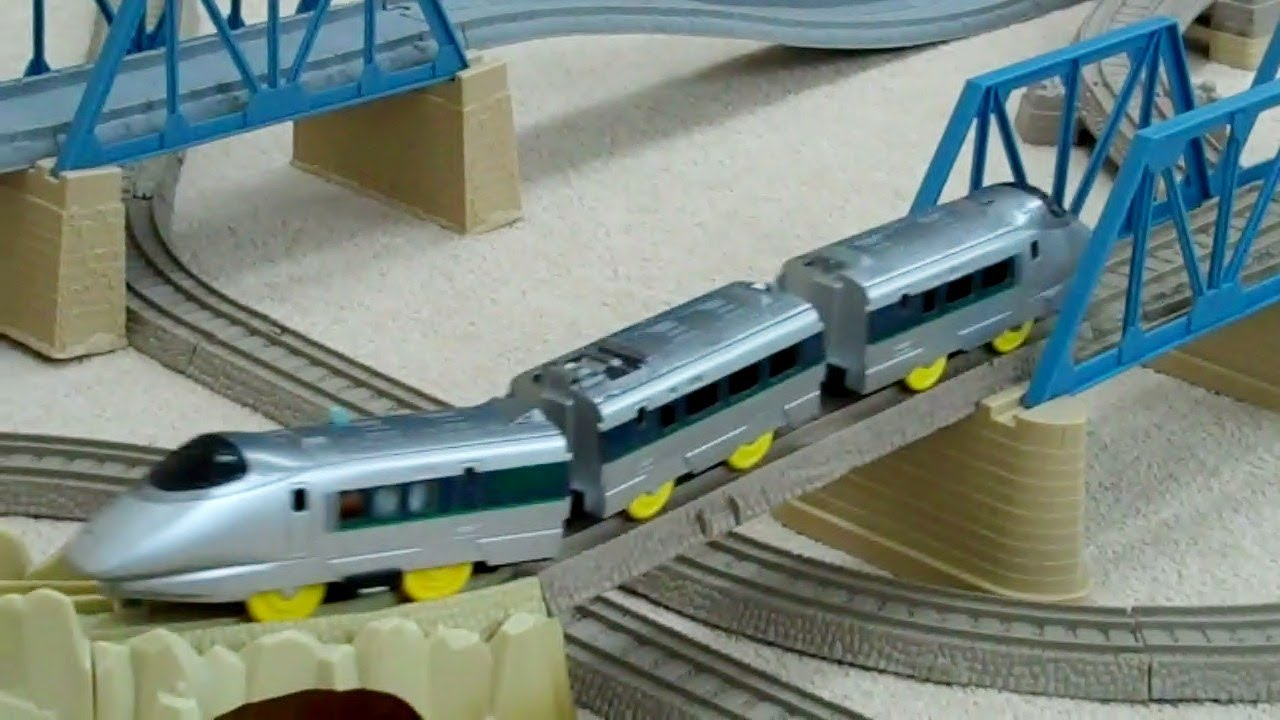 Tomy Silver Bullet On A Trackmaster Track Kids Thomas The