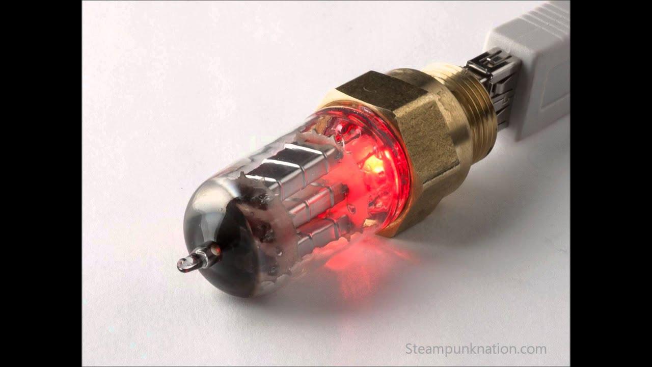 32gb Steampunk Usb Flash Drives Gadgets With Led Vacuum