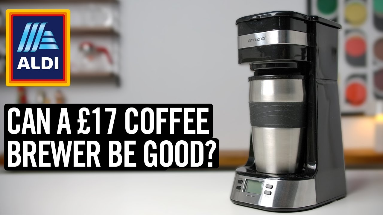 Aldi's Absurdly Cheap Single Cup Brewer
