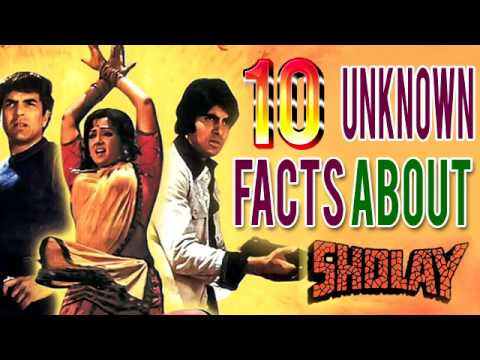 Top 10 Facts About 'Sholay' you sholud know | Indian classic movie