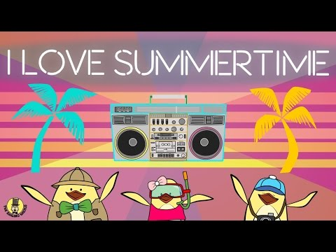 Summer Songs for Kids | I Love Summertime | The Singing Walrus