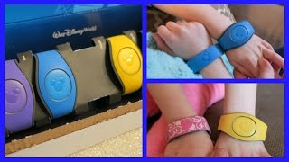 DISNEY WORLD MAGICBANDS 2.0 UNBOXING & COMPARISON | beingmommywithstyle
