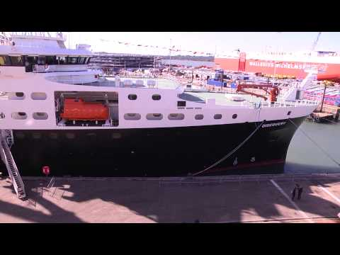 RRS Discovery Naming Ceremony