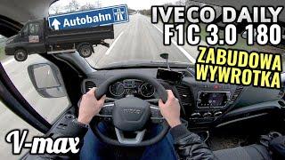 2019 Iveco Daily F1C 3.0 180 KM - WYWROTKA i próba autostradowa. V-max.