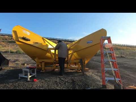 Massive Snow Plow Mobile Welding Repair!