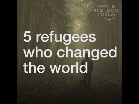 5 Refugees who changed the world