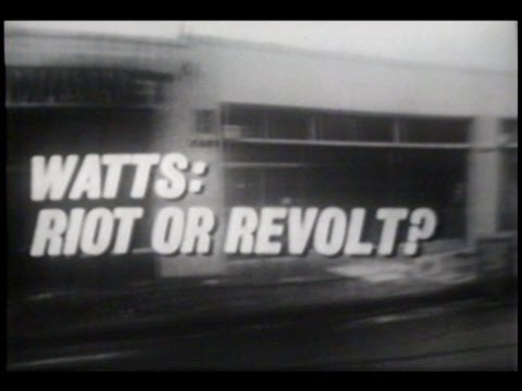 "50 Years Later...""CBS Reports: Watts-Riot or Revolt?"" (1965) Reel America Preview"