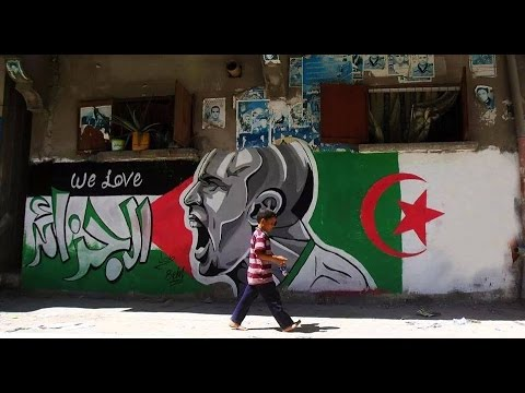"Algeria & Palestine ""LOVE"" Forever. Algerian's and Palestinian's are one people"