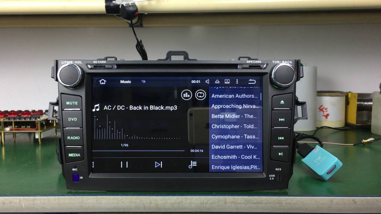 Joying Android Car Radio Stereo For Toyota Corolla YouTube - Cool car radios