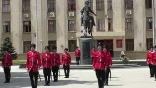 Рота почетного караула кубанского казачьего войска HD