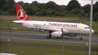 [HD] Planes at Birmingham Airport 29/06/14 Part 1!