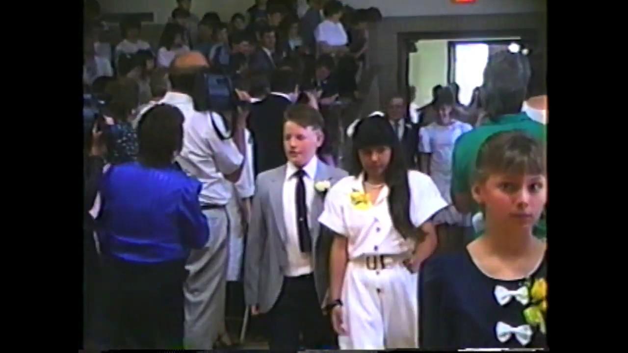 MES 6th Grade Graduation  6-20-90