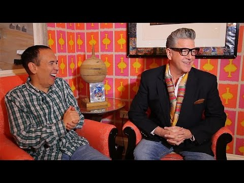 Gilbert Gottfried and Jonathan Freeman on Bringing Iago and Jafar to Life in Aladdin