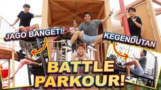 Download lagu WASEDA BOYS BATTLE PARKOUR! NGAKAK JIWA😂