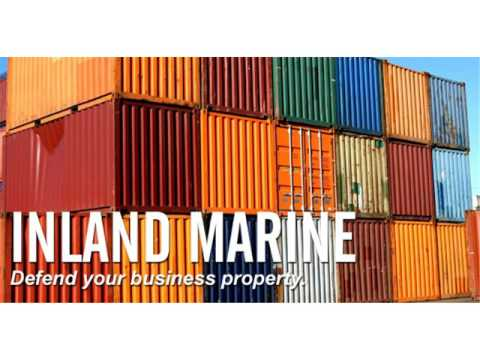 What Does Inland Marine Insurance Cover
