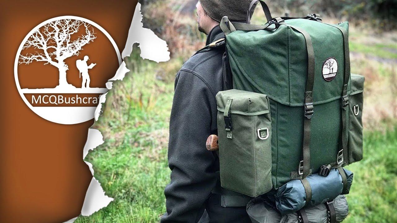 Bushcraft Backpack Upgrades - LK35 Frame Pack - YouTube