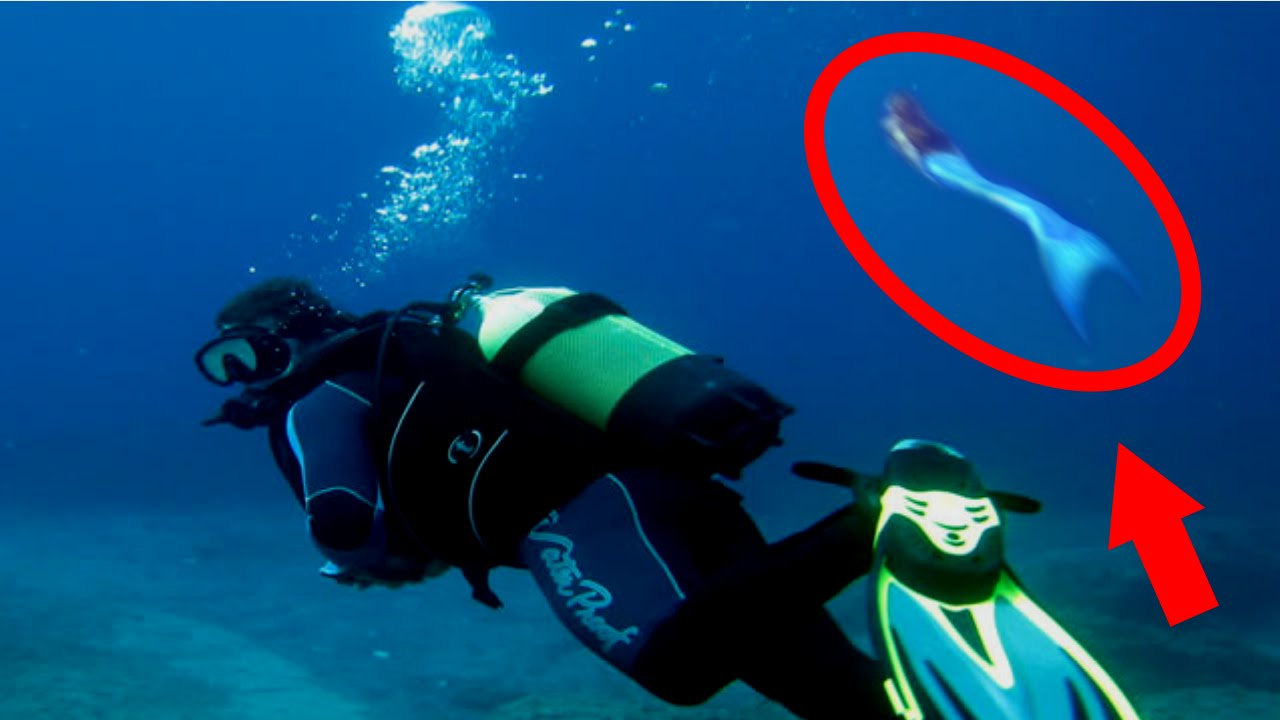 mysterious sea creatures caught on tape mermaids youtube