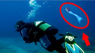 Mysterious Sea Creatures Caught on Tape (MERMAIDS!)