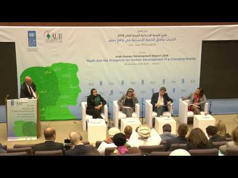 Launch of the Arab Human Development Report 2016 session 3