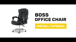 JIJI Boss Office Chair - Display and Install Procedure