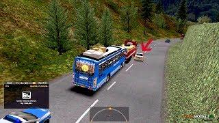 Kerala Private Bus FUSION Color Code | Police rash driving Caught | KSRTC, FUSION bus in traffic jam