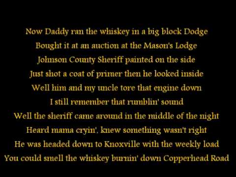Steve Earle- Copperhead Road Lyrics