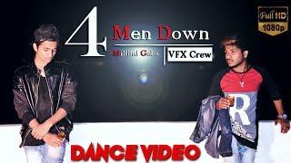 4 Men Down - Millind Gaba   Dance Video 2019 - VFX Crew