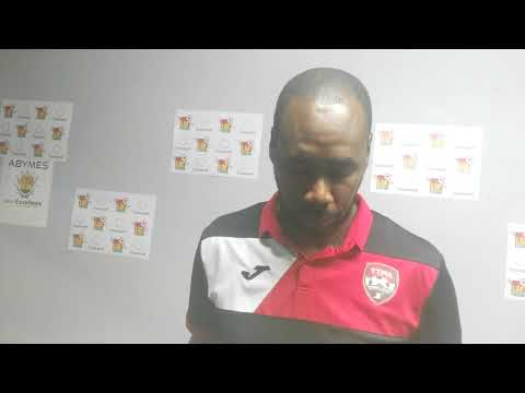 Dennis Lawrence post game Guadeloupe
