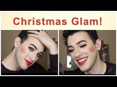 Christmas Glam Makeup Tutorial! | MannyMua
