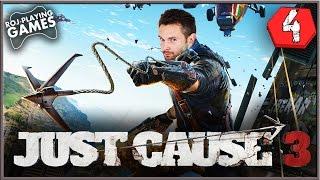 JUST CAUSE 3 | #4 | Grubas z Tropico | 60FPS GAMEPLAY