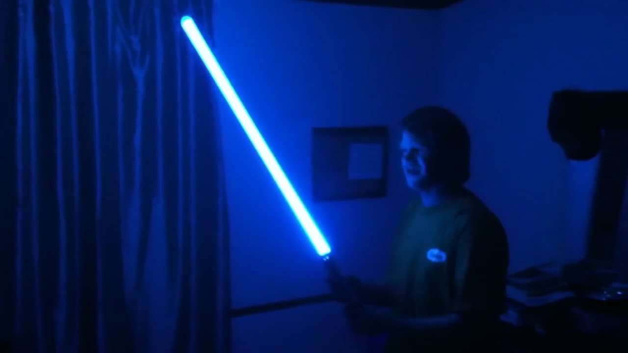 ultra sabers graflex se with arctic blue blade review youtube
