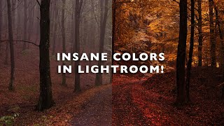 INSANE COLORS & TONES! Unlock In Lightroom Calibration Panel - Editing Tutorial