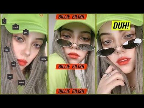 Billie Eilish Makeup | Makeup Giống Billie Eilish | Douyin | Tik Tok TQ