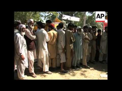 Swat exodus, injured, Buner district civilians, relief camp