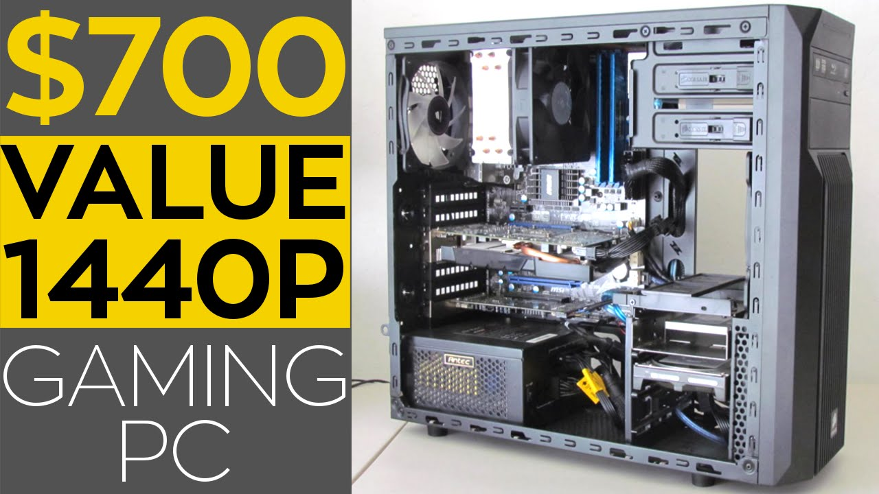 700 value 1440p gaming pc gtx 1060 2016 youtube. Black Bedroom Furniture Sets. Home Design Ideas