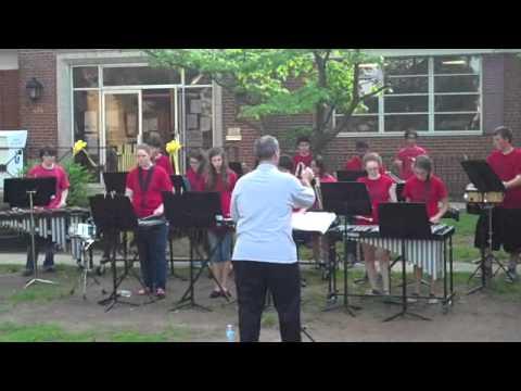 Roselle Park High School Percussion Ensemble- RP Summerfest, 5/29/13- Caravan